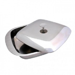 STAINLESS STEEL TRAY WITH...